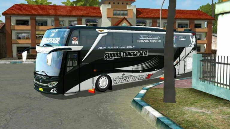 JETBUS 3+ SCANIA Bus Mod for Bus Simulator Indonesia