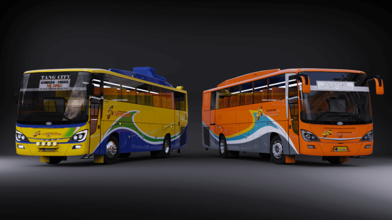 EUROLINER BSW Bus Mod for Bus Simulator Indonesia