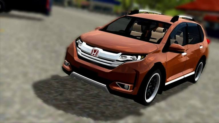 Honda BRV Prestige Car Mod for Bus Simulator Indonesia