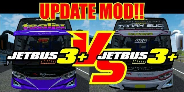 JETBUS3+ MHD Update JETBUS3+ HDD Mod for BUSSID