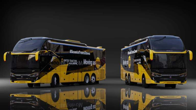SR2 XHD Scania K410 Mod for Bus Simulator Indonesia