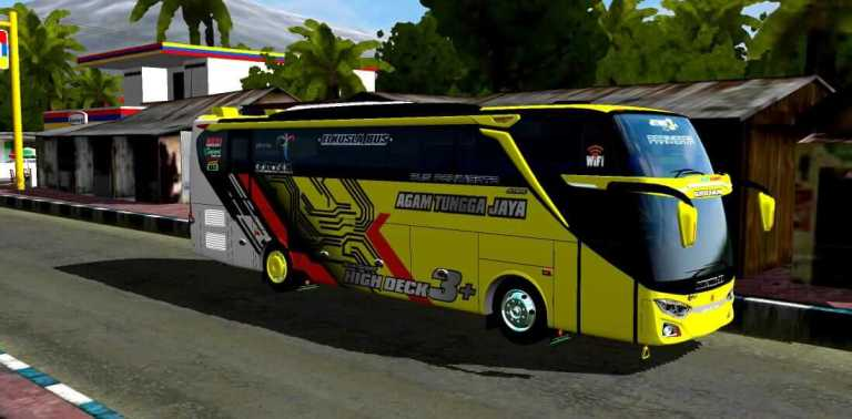 JB3+ SHD Facelift Voyager Mod for Bus Simulator Indonesia