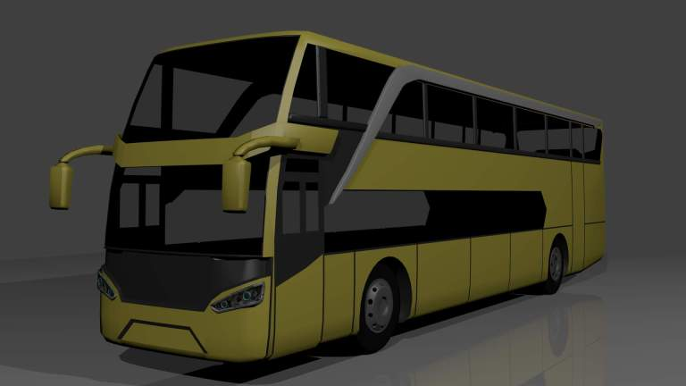 Jetbus 2 SDD Mod for Bus Simulator Indonesia