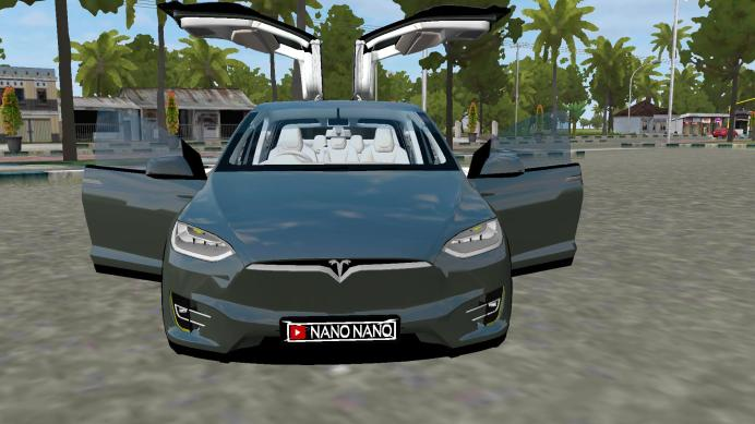 TESLA MODEL X Car Mod for BUSSID IMG_03 - SGCArena