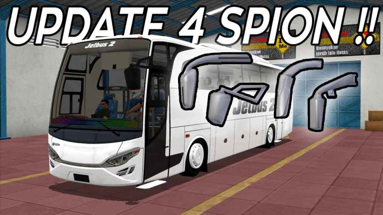 UPDATE SPION JETBUS HD Mod for BUSSID