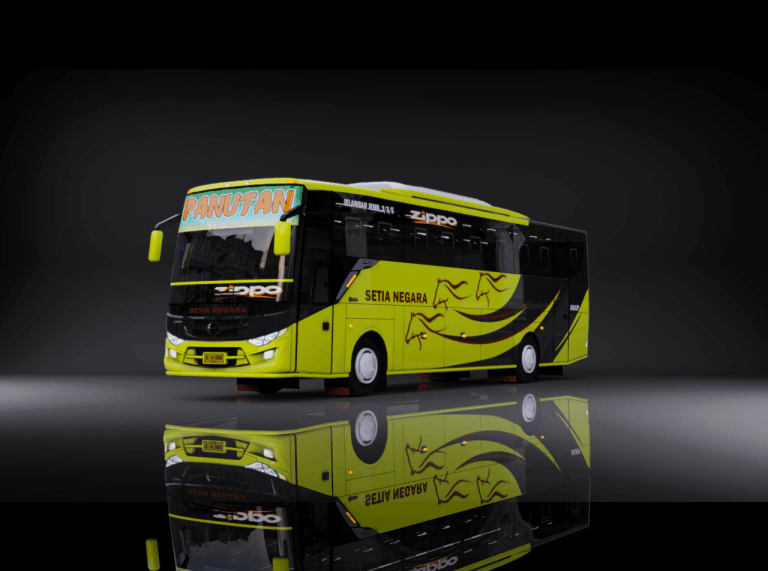 TENTREM MAX Bus Mod for Bus Simulator Indonesia