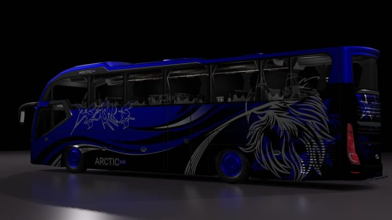 Arctic SHD XL Bus Mod for Bus Simulator Indonesia