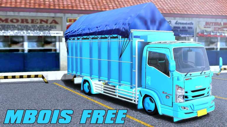 Isuzu NMR71 Pickup Mod for Bus Simulator Indonesia