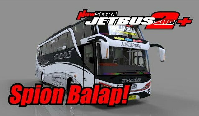 JETBUS 2+ SHD Spiuon Mod for Bus Simulator Indonesia