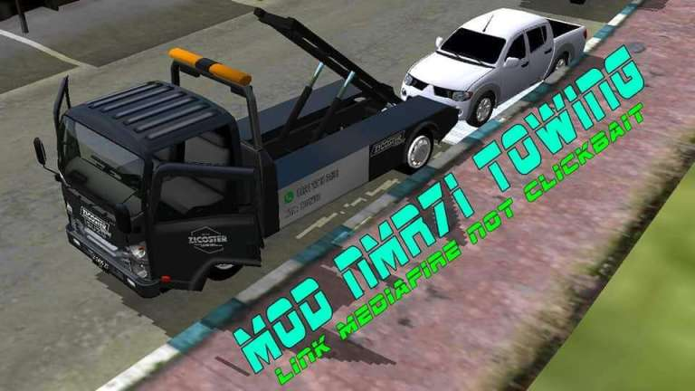 NMR71 TOWING Mod for Bus Simulator Indonesia
