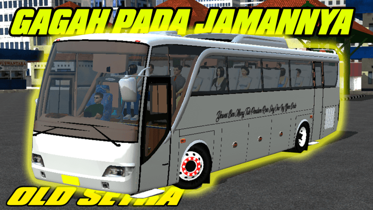 New Old Setra Bus Mod for Bud Simulator Indonesia