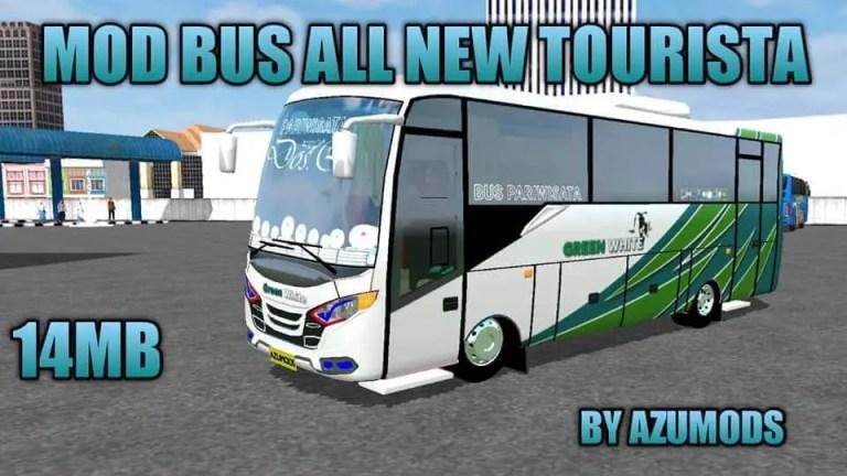 Tourist Bus Mod for Bus Simulator Indonesia
