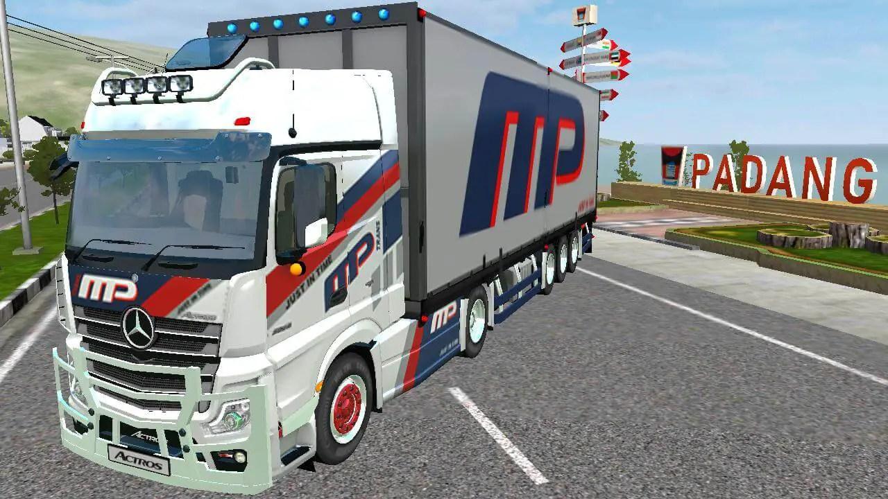 Download Actros V2 Truck Mod for Bus Simulator Indonesia, Actros V2 Truck, Actors Mod for BUSSID, Actros V2 Truck Mod, BUSSID Truck Mod, BUSSID Vehicle Mod, RSM