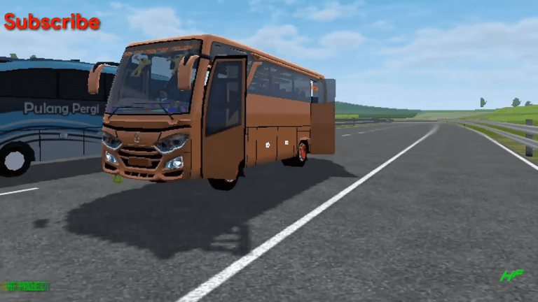 JetBus3 Medium Mod for Bus Simulator Indonesia