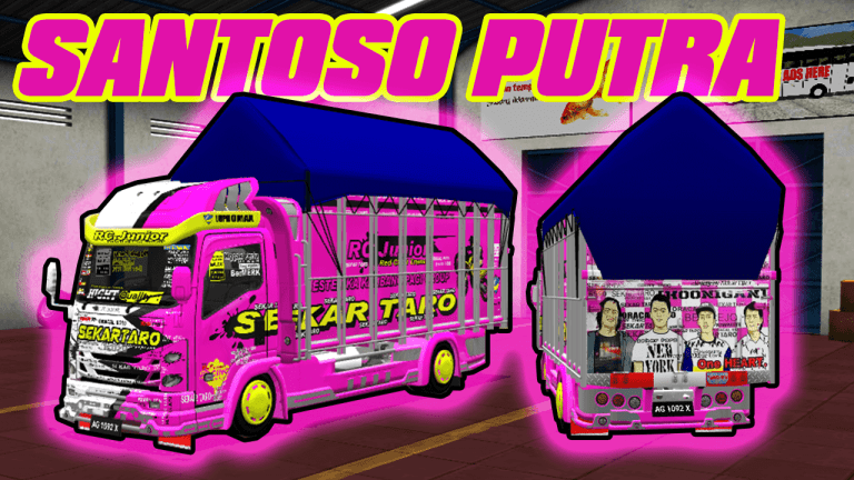 NMR Body Santoso Mod for Bus Simulator Indonesia