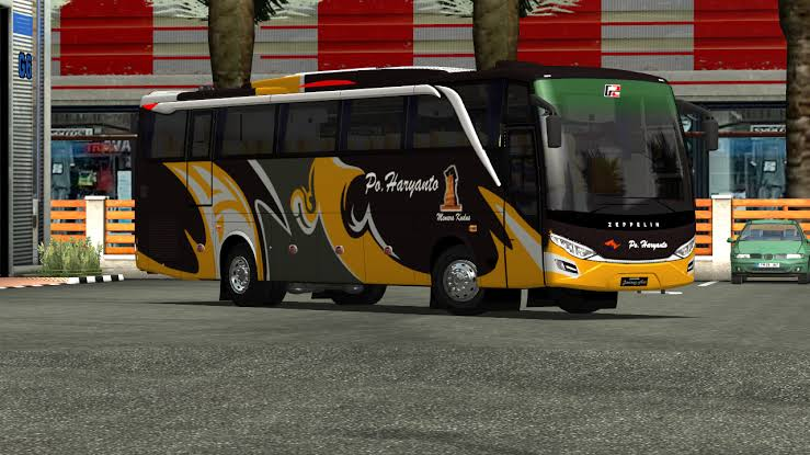 Zeppelin G2 Bus Mod for Bus Simulator Indonesia