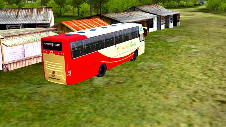 Hino AK1j V2.0 Mod for Bus Simulator Indonesia