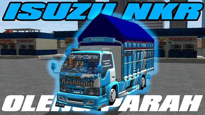 Isuzu NKR Mod for Bus Simulator Indonesia