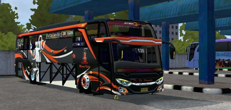 JB3+ MHD Updated Bus Mod for Bus Simulator Indonesia