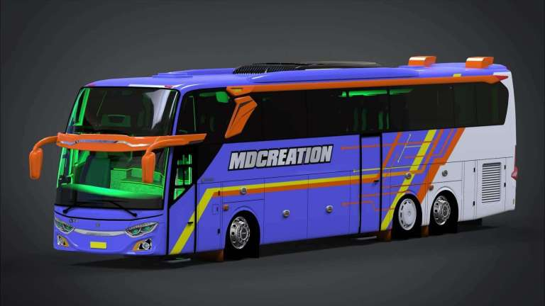 JB3+ Tronton Voyager Mod for Bus Simulator Indonesia