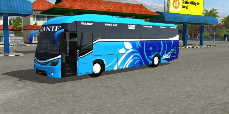 SKS RN E5 V2 Bus Mod for Bus Simulator Indonesia