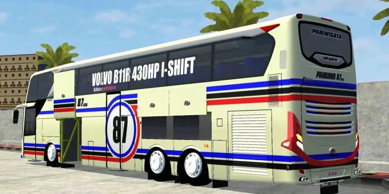 JB3+ Ultra High Deck UHD Mod for Bus Simulator Indonesia