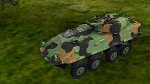 LAV 25, LAV 25 MOd BUSSID, Mod BUSSID LAV 25, Mod LAV 25 Tank BUSSID, BUSSID Tank Mod, BUSSID Mod, SGCArena