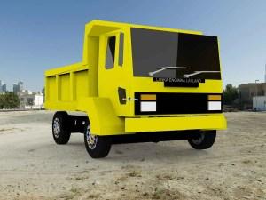 Ashok Layland Tipper, Ashok Layland Tipper Mod BUSSID, Mod BUSSID Ashok Layland Tipper, Ashok Layland Tipper Truck Mod BUSSID, Mod Ashok Layland Tipper BUSSID, BUSSID Truck Mod, SGCArena, BUSSID Mod