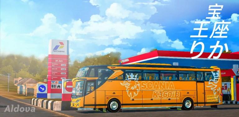 JB3+ Scania K360 Bus Mod for Bus Simulator Indonesia