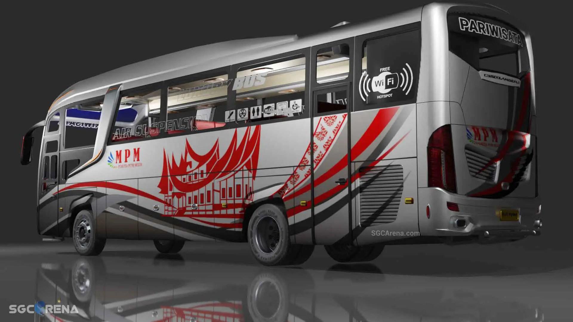 Download Evolander HD Bus Mod for Bus Simulator Indonesia, Evolander HD, BUSSID Bus Mod, BUSSID mod, Evolander Bus Mod, Rull Hyden