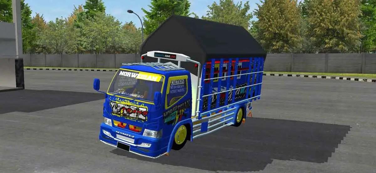 Canter Vix Trans, Canter Vix Trans Mod BUSSID, Mod BUSSID Canter Vix Trans, Mod Canter Vix Trans BUSSID, BUSSID Truck Mod, BUSSID Mod, SGCArena, RMC Creation