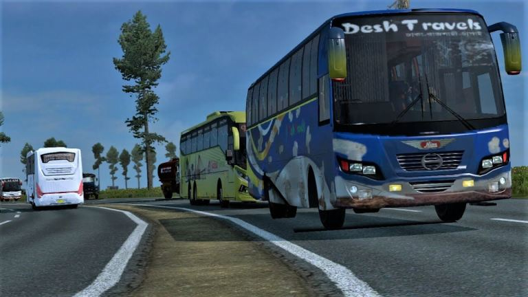 BD Traffic Pack By Fahim Auvro for ETS2 1.31 to 1.37