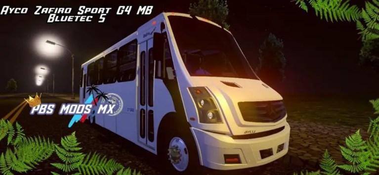 Ayco Zafiro Sport MB Bluetec 5 Mod for Proton Bus