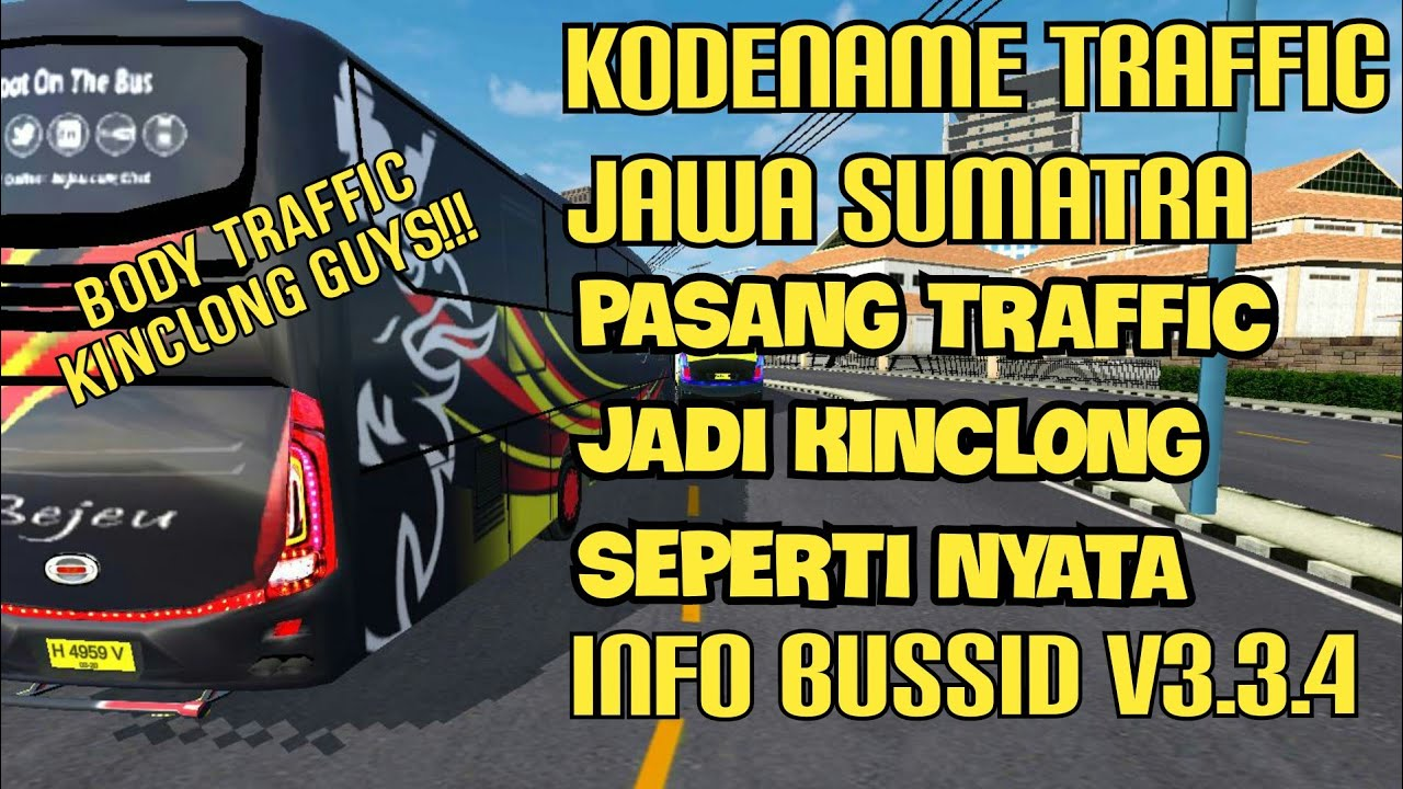 Download BUSSID V3.3.3 Obb: Traffic Jatim Bussid Body Kinclong Pakai Skincare, , BUSSID OBB Mod, BUSSID Traffic Mod, Yodi Channel