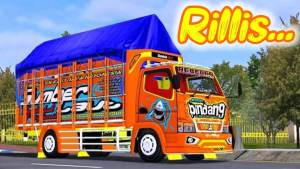Canter Rebecca Pindang Truck Mod BUSSID by Souleh Art - SGCArena
