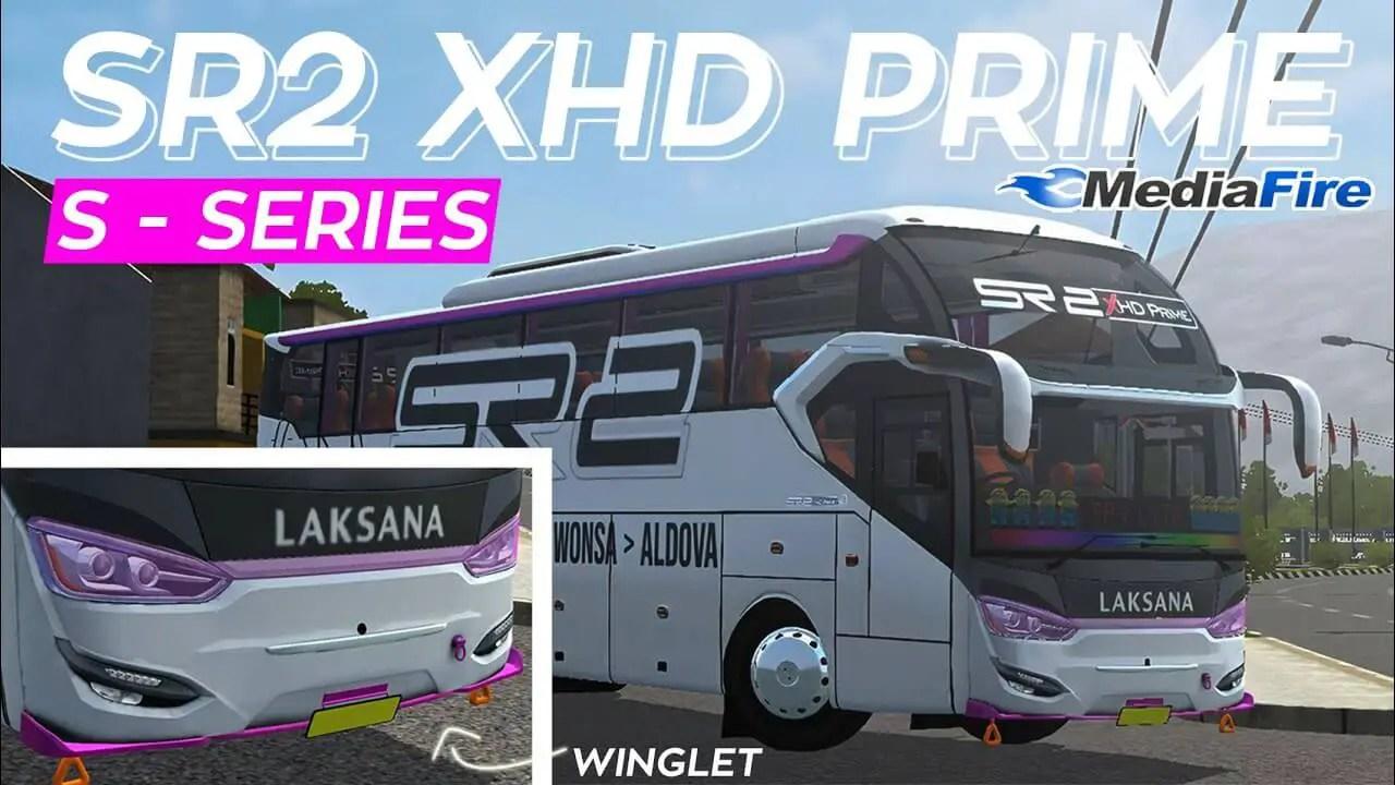 SR2 XHD Prime S-Series Hino Mod BUSSID, Mod SR2 XHD Prime S-Series Hino BUSSID, BUSSID Bus Mod SR2 XHD Prime S-Series Hino, SGCArena. BUSSID Mod