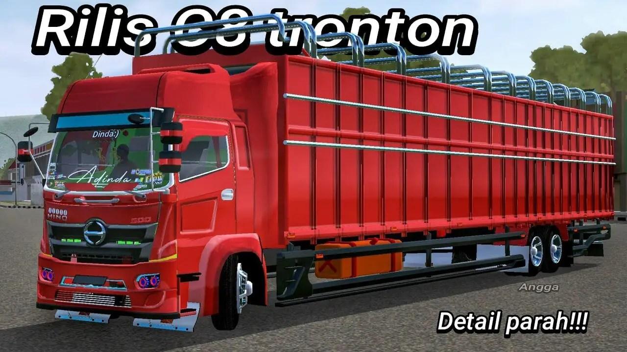 C8 Tronton Mod BUSSID, Mod C8 Tronton BUSSID, Truck Mod C8 TrontonBUSSID, BUSSID Truck Mod