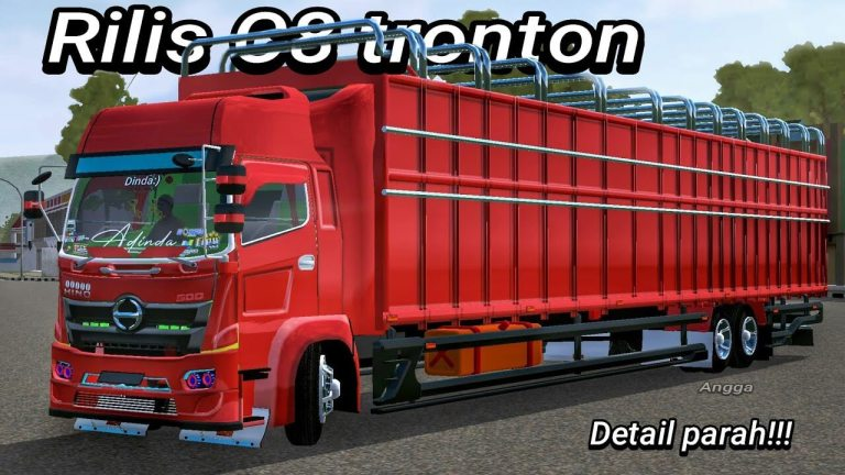 C8 Tronton Truck Mod for BUSSID