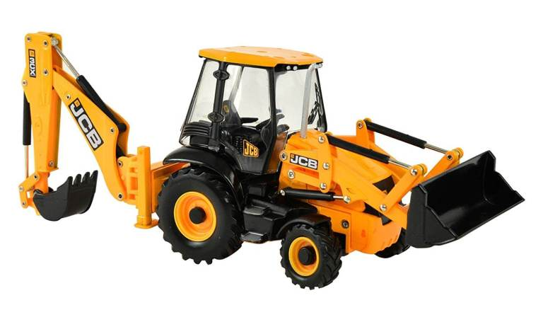 JCB Backhoe Loader Mod for BUSSID