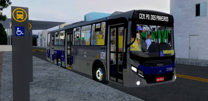 Download Gaius Apache VIP IV MBB 1724 L | SPTrans Standard Mod for Proton Bus, , DRBS Edit, PBS Bus Mod