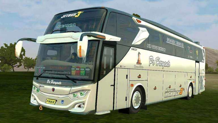 Update Jetbus3 Hino + Scania Bus Mod for BUSSID