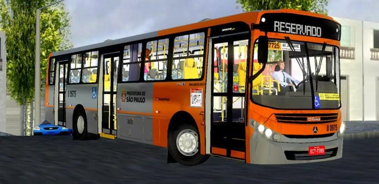Gaius Apache VIP III MBB 1721 BT5 | SPTrans Standard Mod for Proton Bus