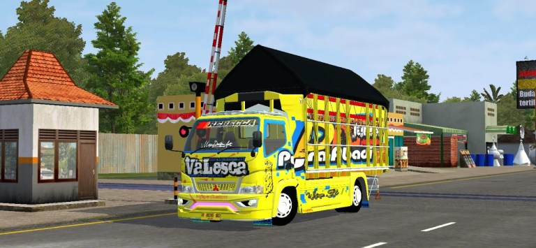 Rebecca Valesca Truck Mod for BUSSID