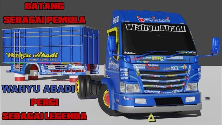 New Special Truck Mod for Bus Simulator Indonesia