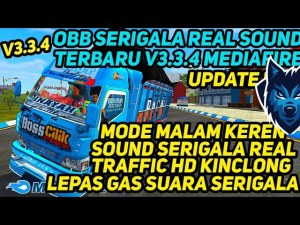 Download BUSSID V3.3.4 Obb Mod: Sound Serigala Full Update Terbaru Support, , Bang Sadewa, BUSSID OBB Mod, Obb Mod BUSSID