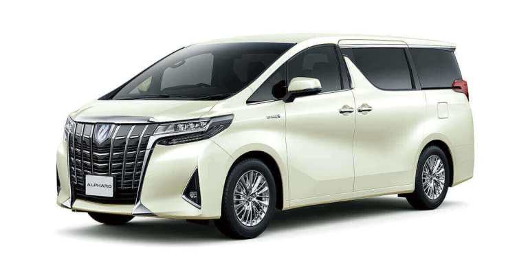 Toyota Alphard Hybrid 2020 Car Mod for BUSSID