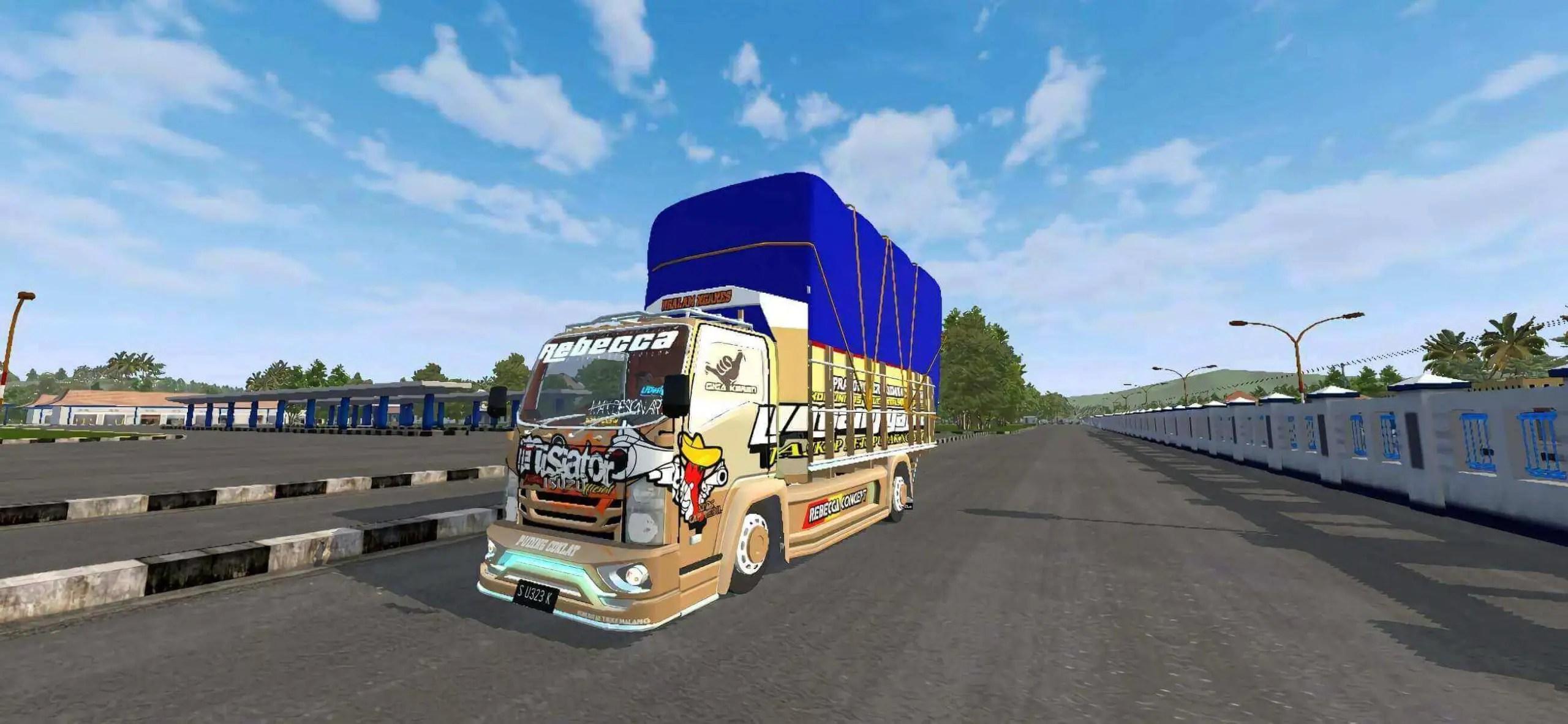 NMR 71 Inisiator Truck Mod BUSSID, Mod NMR 71 Inisiator BUSSID, BUSSID Truck Mod, Truck Mod BUSSID