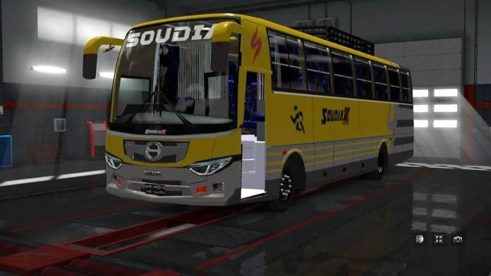 Soudia X Hino AK1J Non AC Mod, Soudia X Hino AK1J BD Bus Mod, Soudia X Hino AK1J Mod BUSSID, Mod Soudia X Hino AK1J BUSSID, BUSSID Bd Bus Mod, BUSSID Bus Mod, Fahim Auvro, Hino AK1J Bus Mod BUSSID