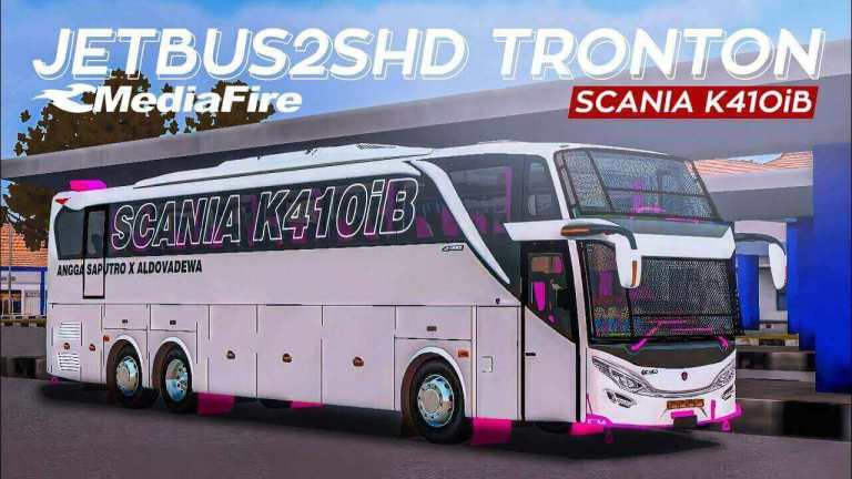 JB2 SHD Scania K410iB Bus Mod for BUSSID