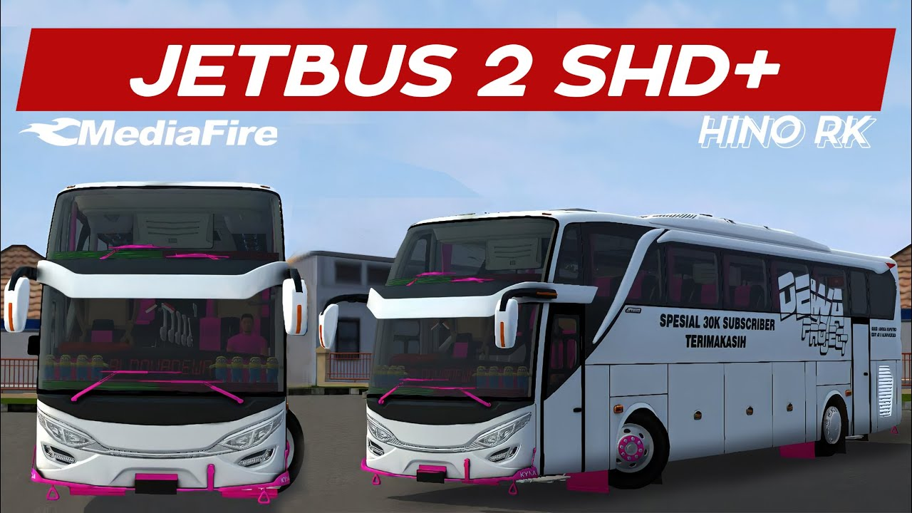 Download JB2 SHD Hino RK Bus Mod for BUSSID, JB2 SHD Hino RK, ALDOVADEWA, BUSSID Bus Mod, BUSSID Vehicle Mod, JB2 SHD Mod for BUSSID
